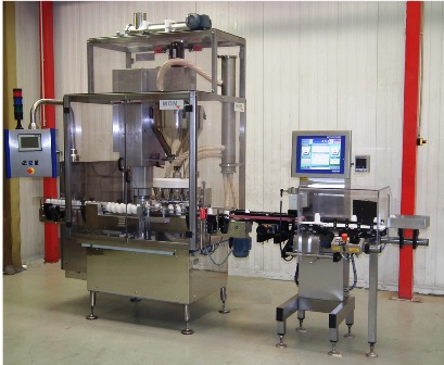Machines de remplissage de produits secs haute cadence - High speed powder filling machines