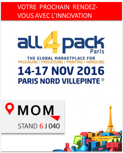 MOM a ALL4PACK avec Virtual Packaging Line