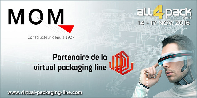 MOM Packaging, partenaire de la Virtual Packaging Line