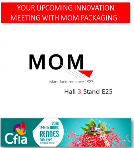 Come and visit us (Hall 3 E25) to discover our range of filling machines at CFIA Rennes 2018