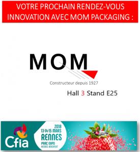 Visitez notre stand (Hall 3 E25) pour découvrir toute notre gamme de machines de remplissages au CFIA Rennes 2018