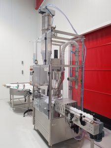 Machine de remplissage de bicarbonate